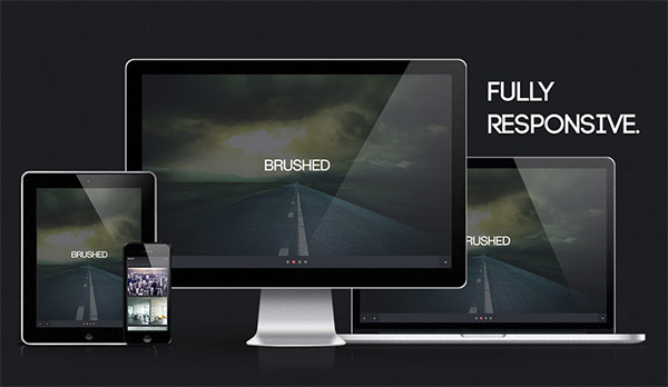 Brushed in 23 New and Free HTML5 Templates